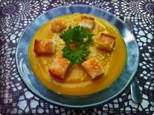 ซุปฟักทองครีมชีส