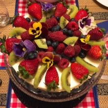 ชีสเค้กผลไม้รวม