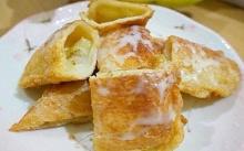 ขนมปังไส้กล้วยหอม