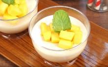 แก้ร้อนไปกับ Mango Pudding เต้าฮวยมะม่วง หอมหวาน เต็มคำ!