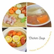 ซุปไก่ใส High Vitamin C