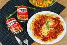 """วิธีทำ """"มักกะโรนีไก่อบชีส"""" เมนูอาหารอิตาเลียน ไก่เนื้อนุ่มชุ่มซอส"""