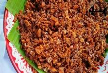 น้ำพริกหมูกรอบ อาหารไทย เมนูหมูกรอบผัดน้ำพริก แสนอร่อย