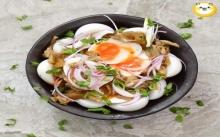 ไข่ต้มน้ำปลาเห็ด
