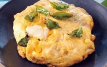ไข่เจียวคอนโดเนื้อปูชีส