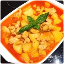 มัสมั่นไก่ อาหารไทย ที่ทำเมื่อไหร่ข้าวหมดหม้อ