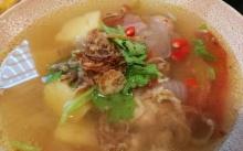 ซุปมันฝรั่งต้มยำ ซุปข้าวหมกไก่