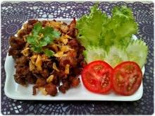 เอ็นข้อไก่พริกไทยดำ