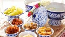 ข้าวแช่ อาหารไทยโบราณ สูตรอาหารชาววัง สำหรับอาหารฤดูร้อน